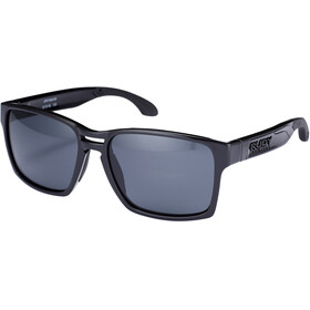 Rudy Project Spinair 57 Sonnenbrille Black Gloss - RP Optics Smoke Black